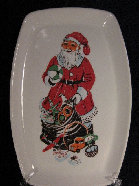 Vintage Figgjo Norway Santa Claus Christmas by havetohaveit & Vintage Figgjo Norway Santa Claus Christmas by havetohaveit ...