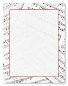 free music borders clip art music note border item 2 vector magz - Music Note Picture Frame
