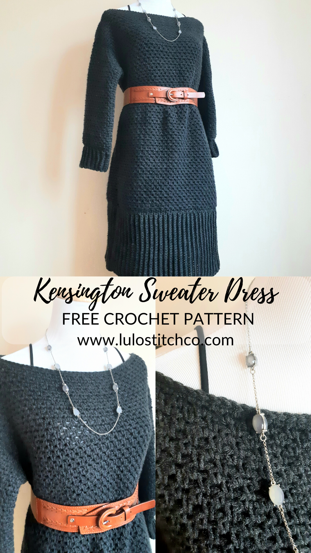 Easy Stylish Sweater Dress