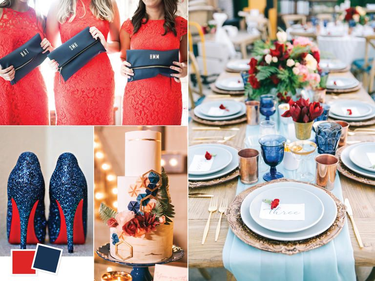 Summer Wedding Colors 2018