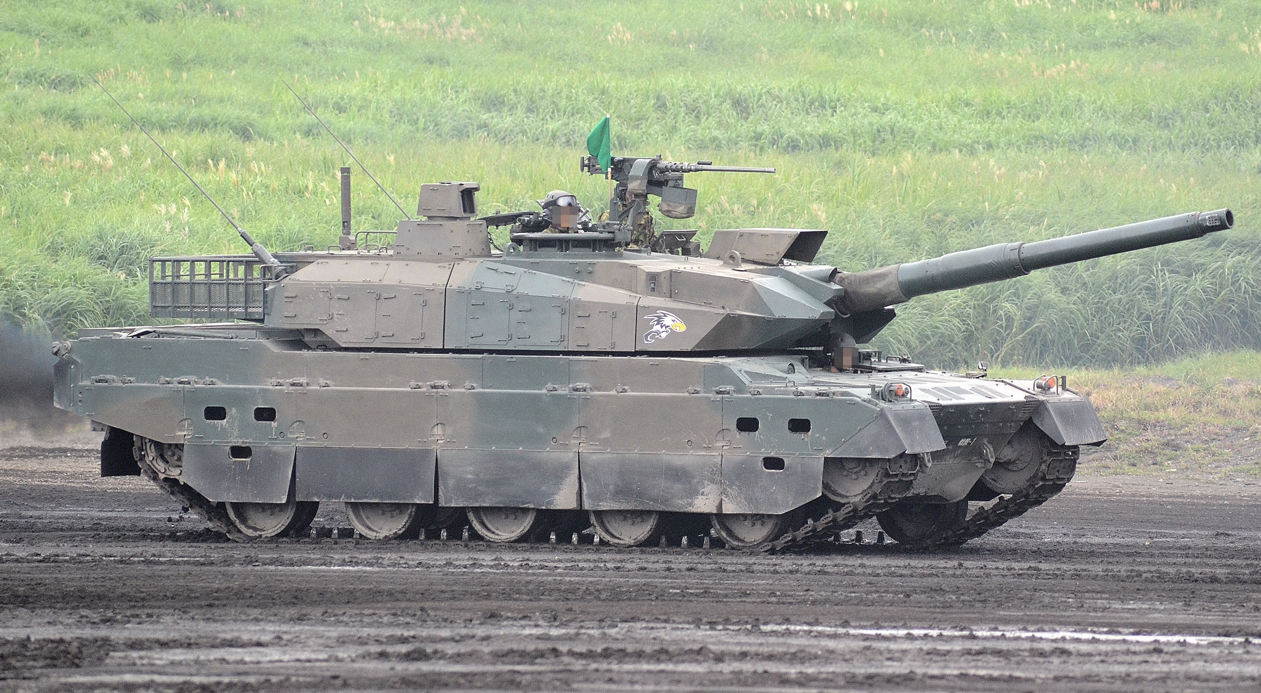 9ac68db3b8d7 The Type 10 is a 4th generation main battle tank of JSDF produced by  Mitsubishi Heavy Industries for the Japanese Ground Self Defense Force.