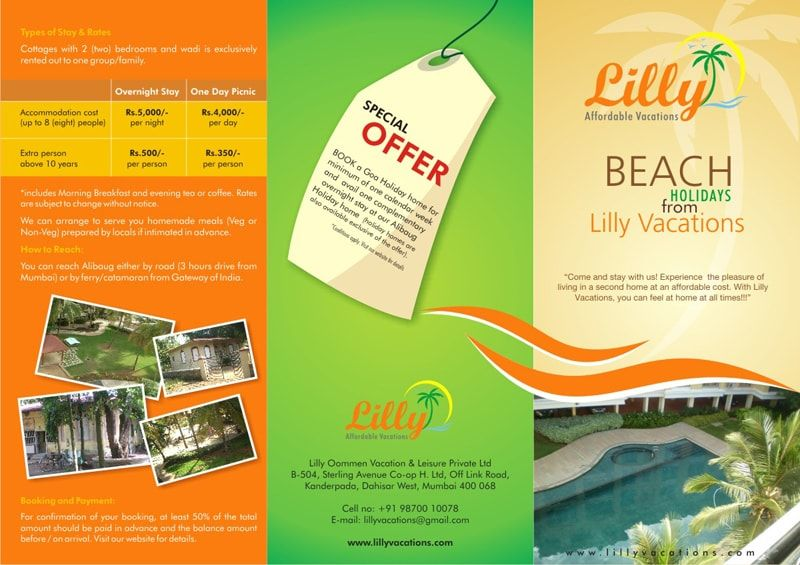 Have A Look At The Exclusive Brochure Designed For Lilly