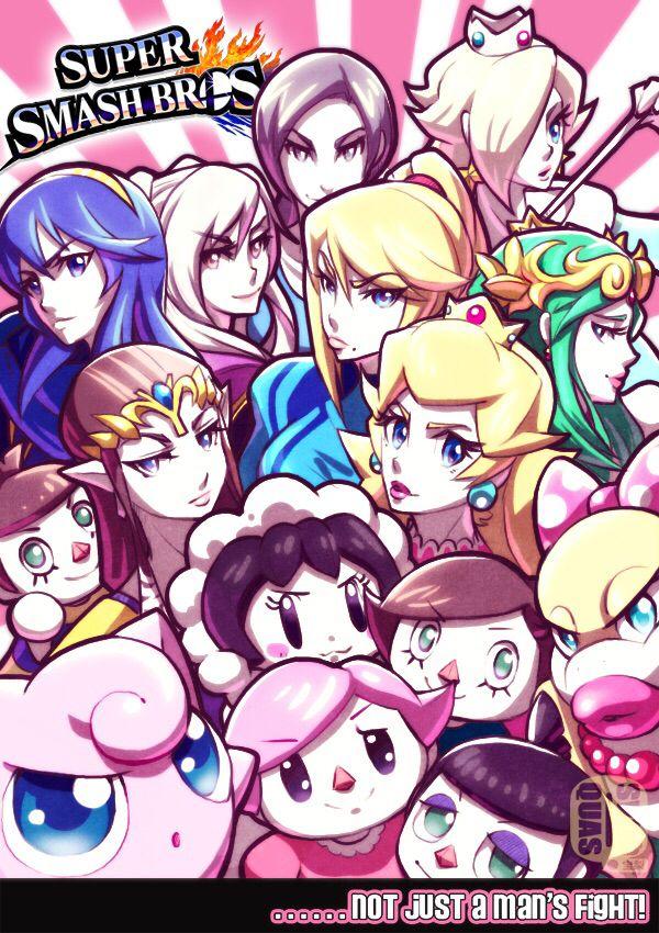 32++ Smash girls ideas
