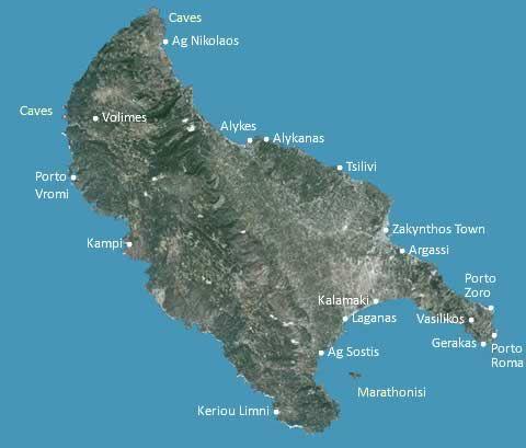 Zante map zakynthos zante pinterest greek islands zante map gumiabroncs Image collections