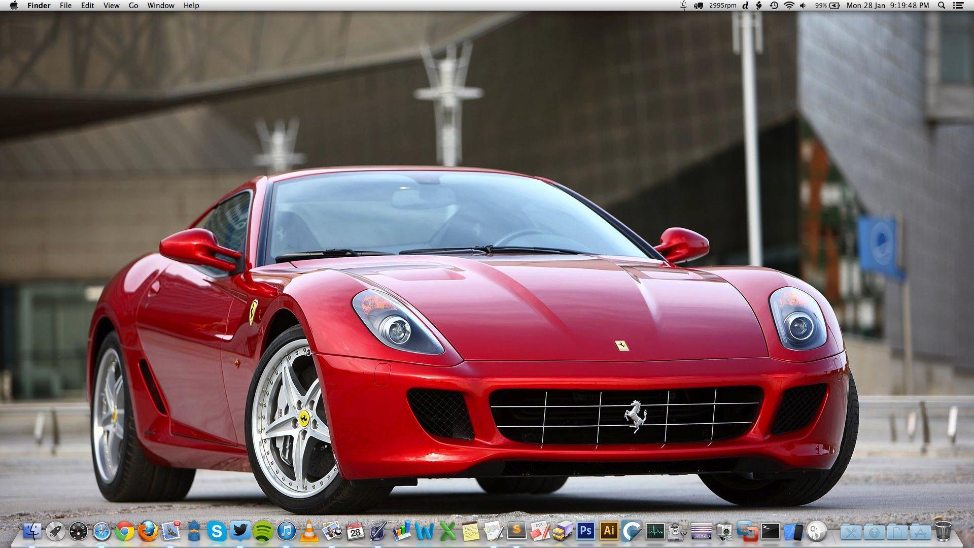 10 Mac OS X Desktop Screenshots Wallpaper Screenshot
