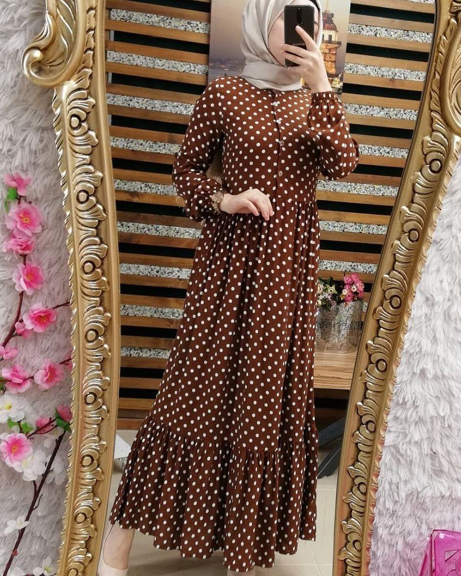 Efsane Modelimiz Yeni Renkleri Ile Geri Dondu Puantiyeli Prenses Viskon Elit Elbise 79 90 Tl Tum Renkler Ic Elbise Puantiyeli Elbise Cicekli Elbiseler