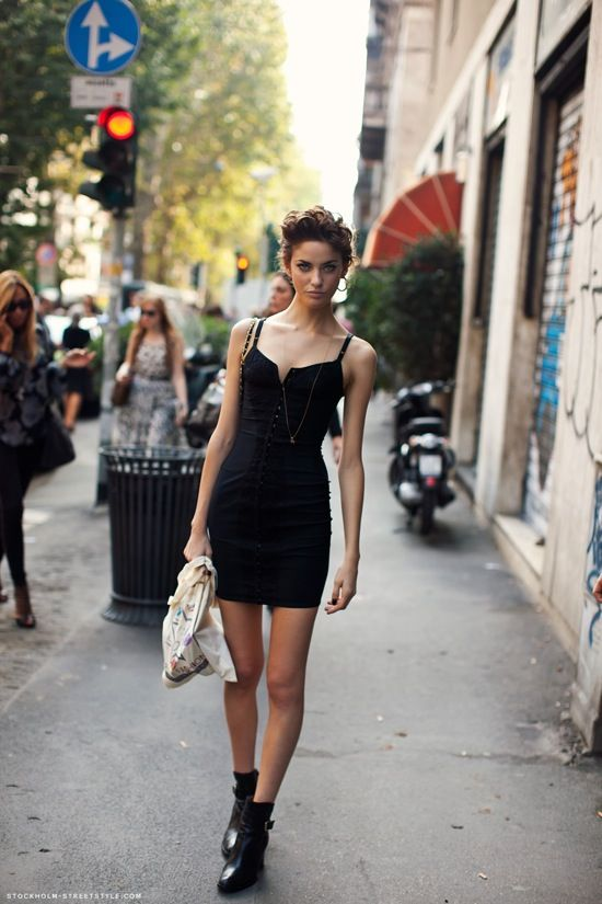 ankle boots with evening dress
