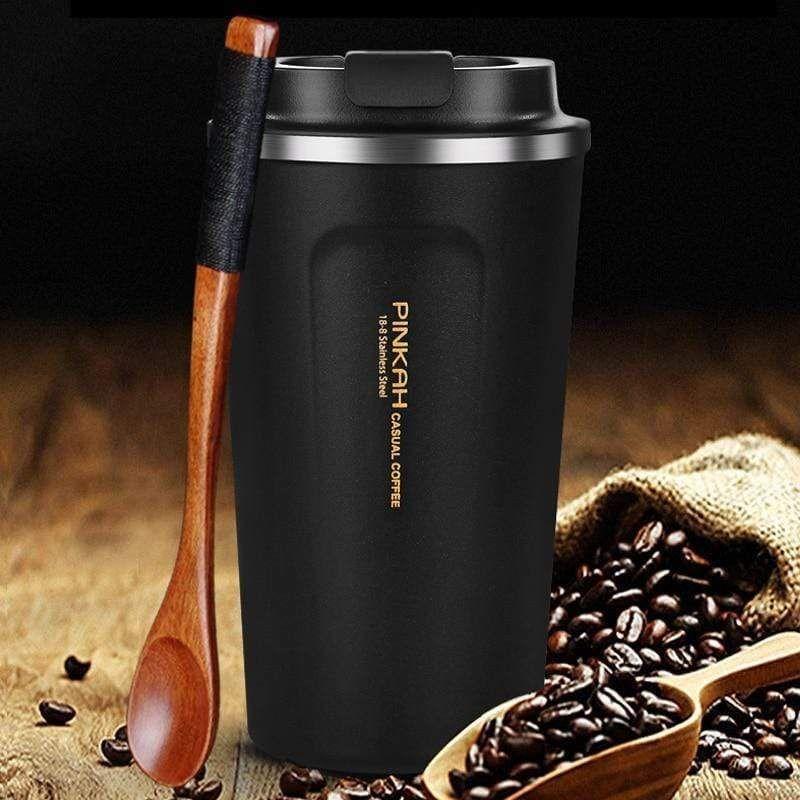 Coffee Mug With Lid And Vacuum Flask