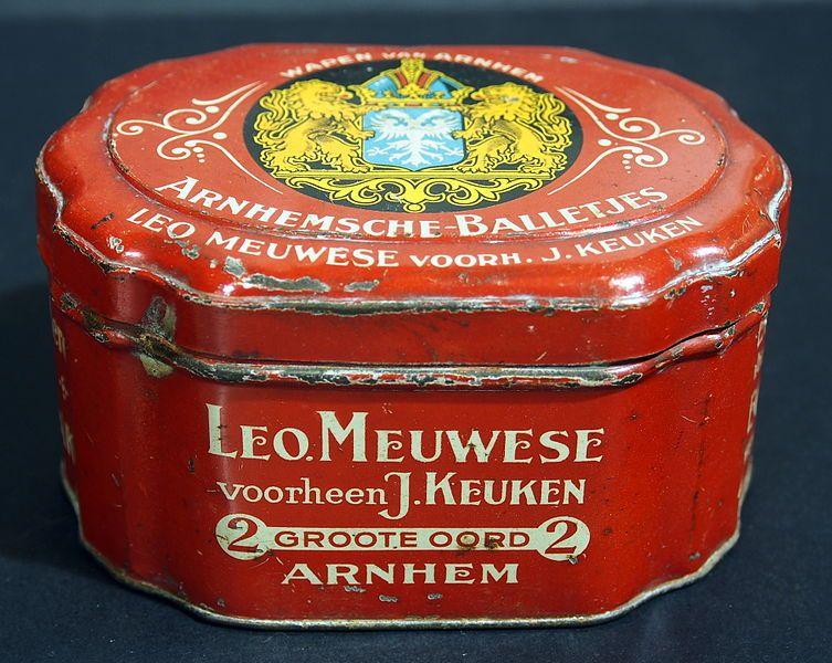 Leo Meuwese Arnhemsche-Balletjes blik.