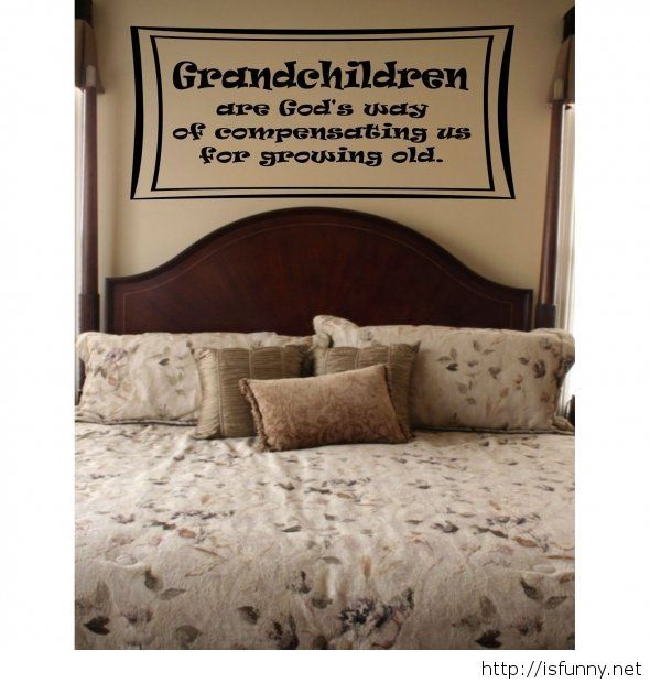 Grandchildren quote on image funny picture #grandchildrenquotes