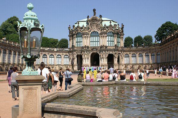 Dresdner Zwinger Wallpavillon Tours Dresden House Styles