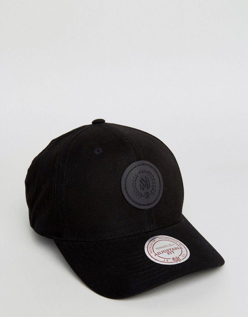 MITCHELL   NESS 110 FLEXFIT CAP EXCLUSIVE TO ASOS - BLACK.  mitchellness   0e17e6f7cb0