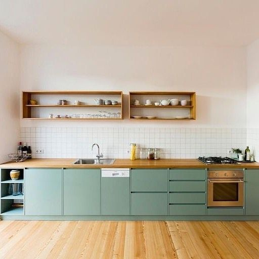 48 The Best Interior Design of a Wooden Kitchen #interiordesignkitchen
