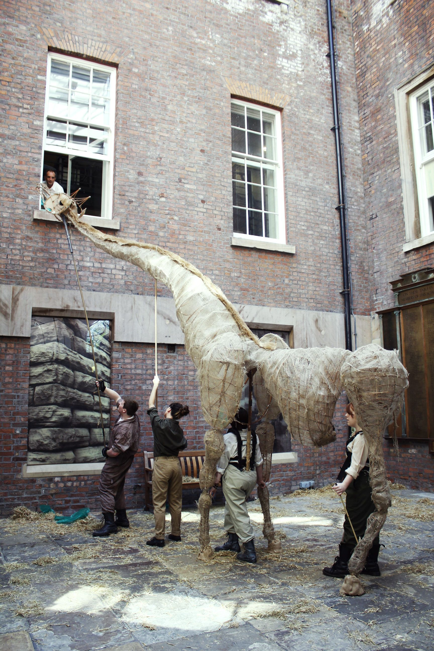 The Giant Giraffe - Mari Lotherington