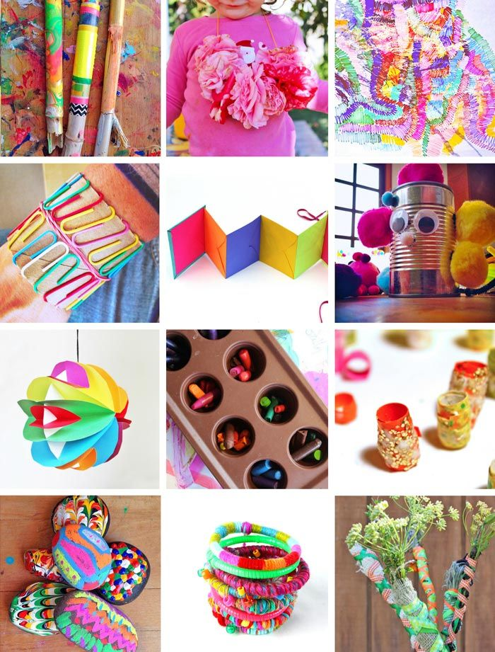 80 Easy Creative Projects For Kids Arts Crafts Projects For Kids