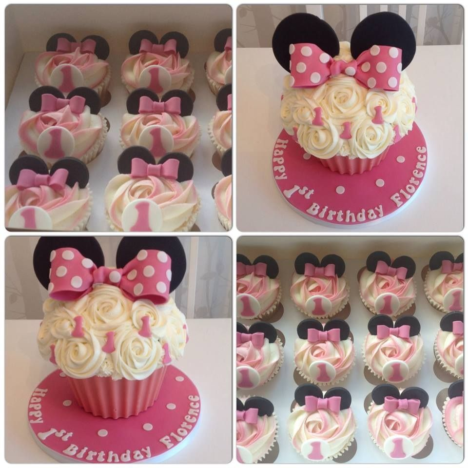 Incredible Minnie Mouse Giant Cupcake Minnie Mouse Birthday Cakes Big Funny Birthday Cards Online Inifofree Goldxyz