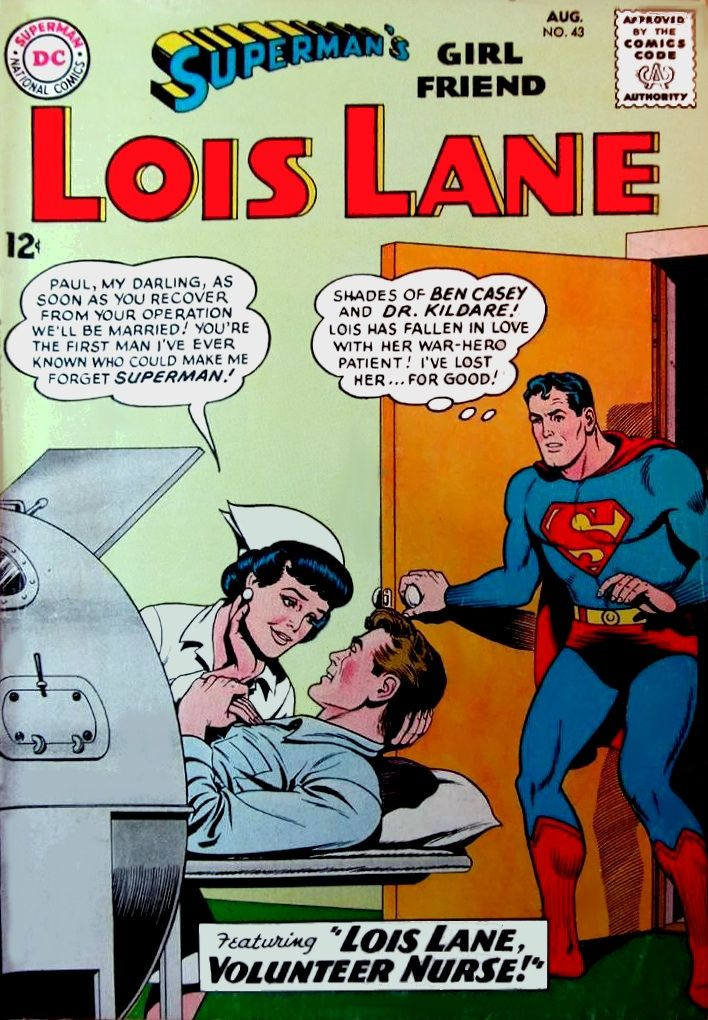 The day superman was in a sissy love comic lois lane 43 the day superman was in a sissy love comic lois lane 43 thecheapjerseys Image collections