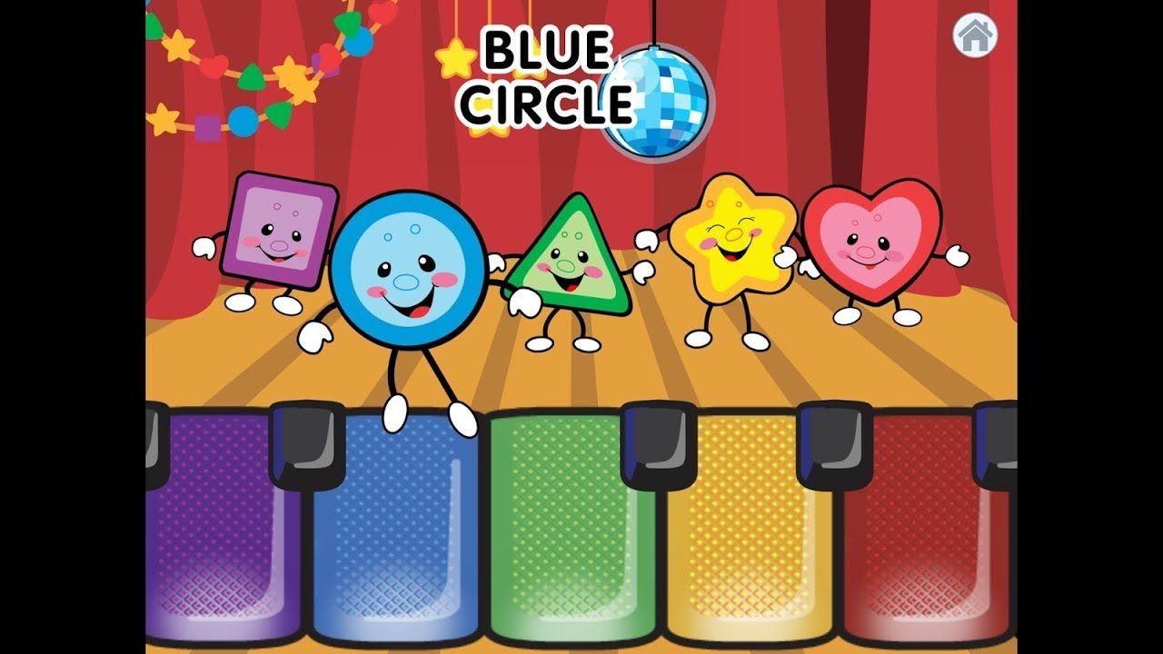 Learn Colors with Shapes music show, Teach colours shapes
