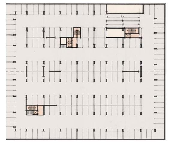 Parking Garage Layout Dimensions Winning Concept Kitchen