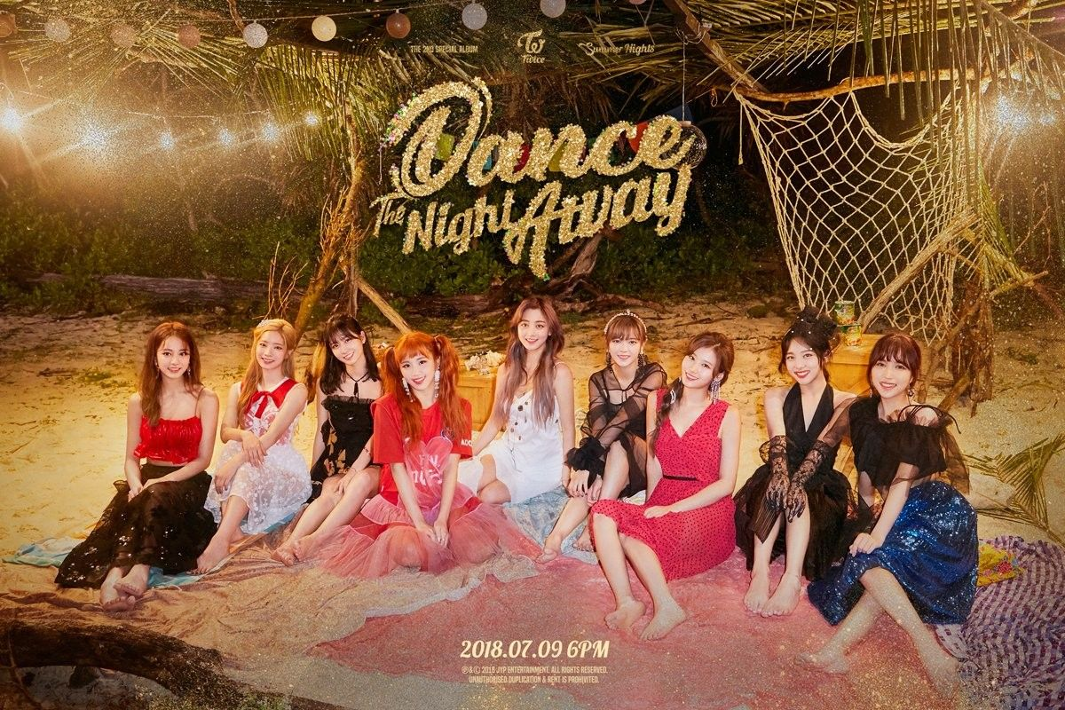 Twice The 2nd Special Album Summer Nights Twice Dance The Night Away