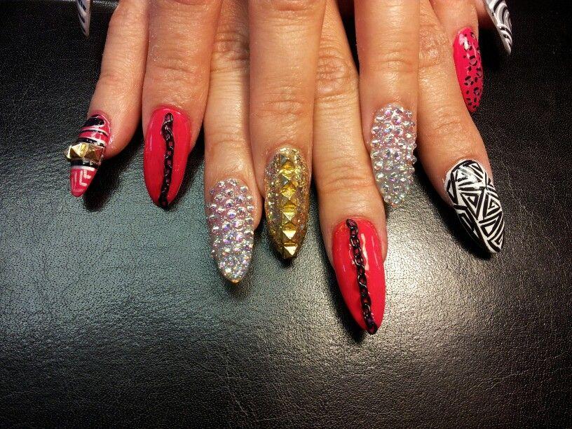 Exotic Nails - Exotic Nails Amor Nail And Hair Pinterest Exotic Nails