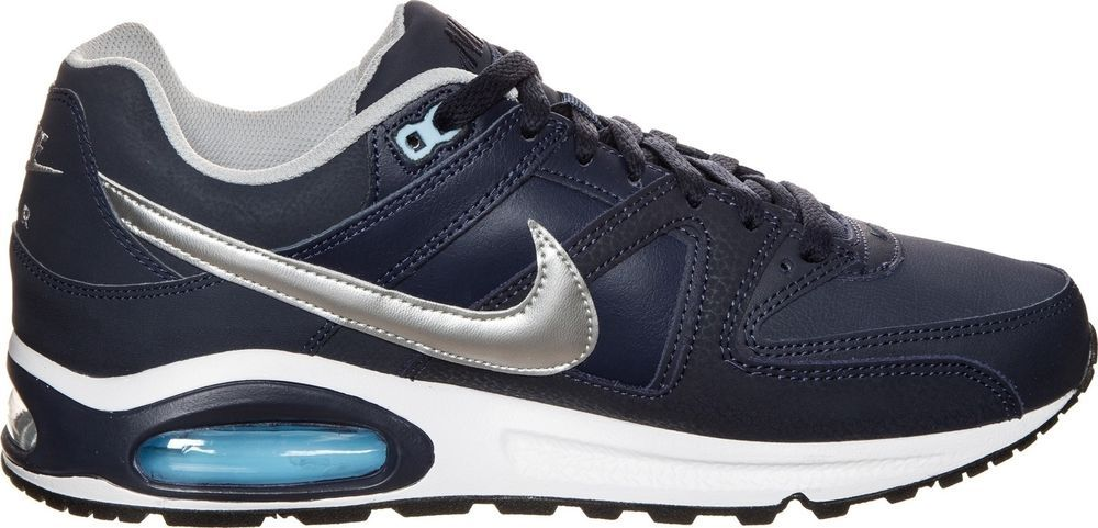 5b1bf5f838a NIKE AIR MAX COMMAND LEATHER 749760-401 BLUE WHITE TRAINERS SNEAKERS NEW  8.5-11  Nike  AthleticSneakers