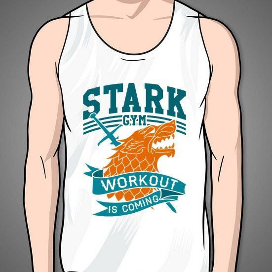 The House Of Stark wants you to become a lean mean fighting machine. Winter may be coming.....but at least you will be fit.