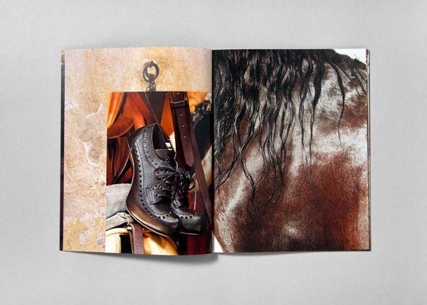 Pedro Garcia Catalogue Autumn/Winter 2011–2012 by clase bcn , via Behance