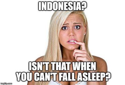 Memes by Svetlana: Indonesia | How to fall asleep, Funny ...