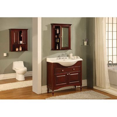 "Empire Industries Windsor 22"" Narrow Depth Bathroom Vanity Amusing Narrow Depth Bathroom Vanity Inspiration Design"
