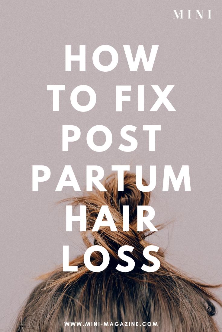 Postpartum Hair Loss? This $19 Hair Loss Shampoo Changed My Hair ...