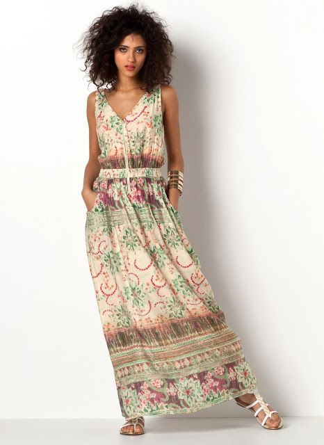 Moldes de vestidos de verano 2019