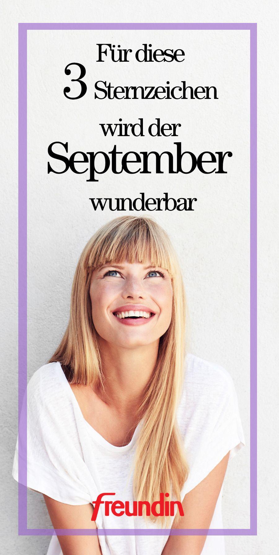 Für diese Sternzeichen wird der September wunderbar Sternzeichen