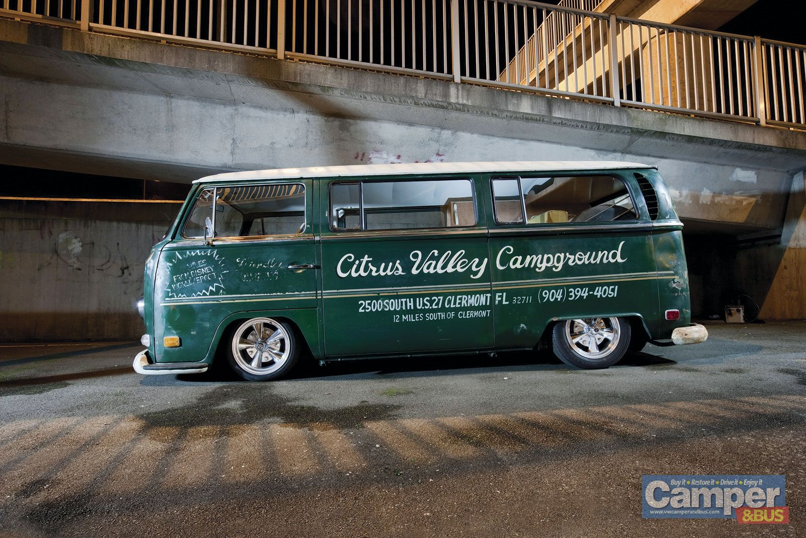 284f450820 Citrus Valley Campground Vw Bus T2