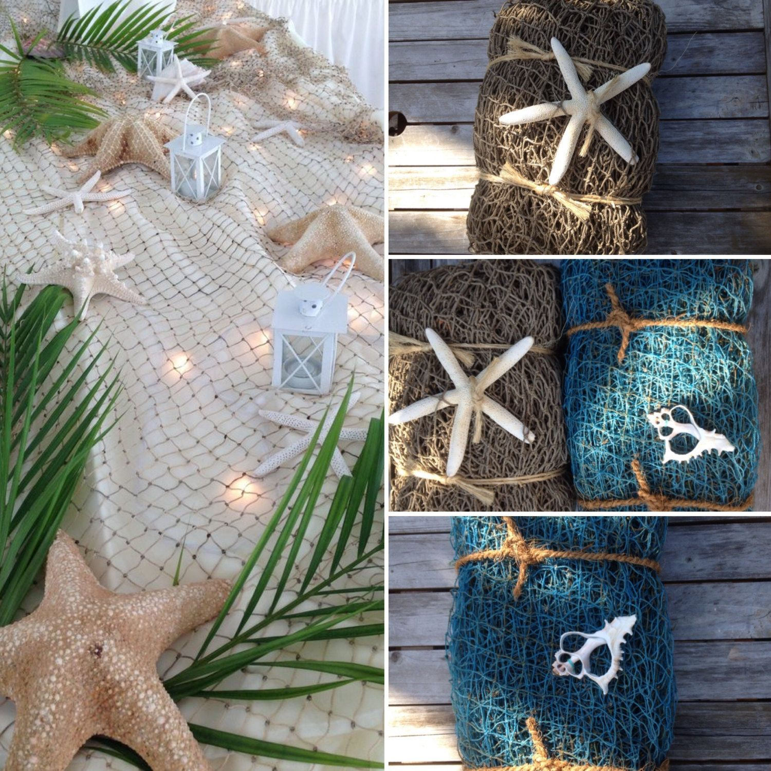 Beach Wedding DecorBeach Party Decorwedding table centerpiecebeach