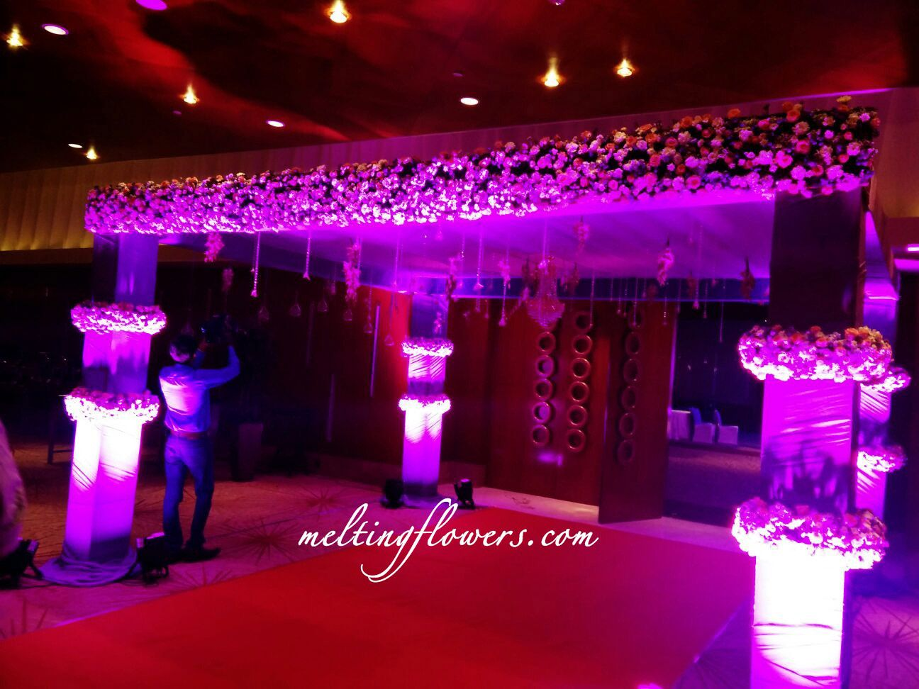 wedding stage decoration pics%0A Beautiful Wedding Entrance Decor Ideas To Check Out