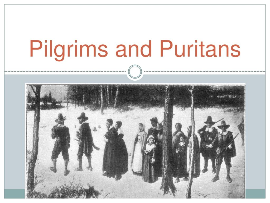 Pilgrims vs Puritans by ms_faris via slideshare Teaching
