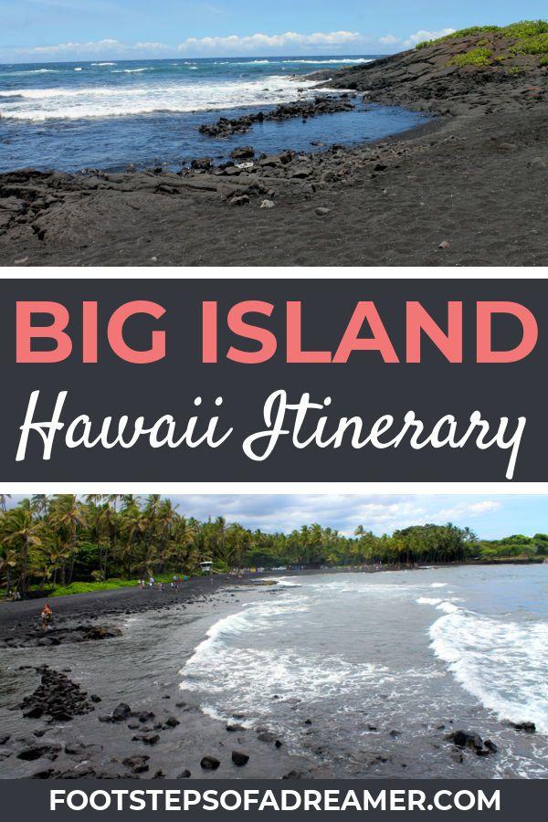 hawaii 3 day big island itinerary tips united states travel rh pinterest com
