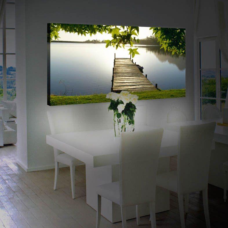 ideas para decorar tu casa cuadros con iluminacion led
