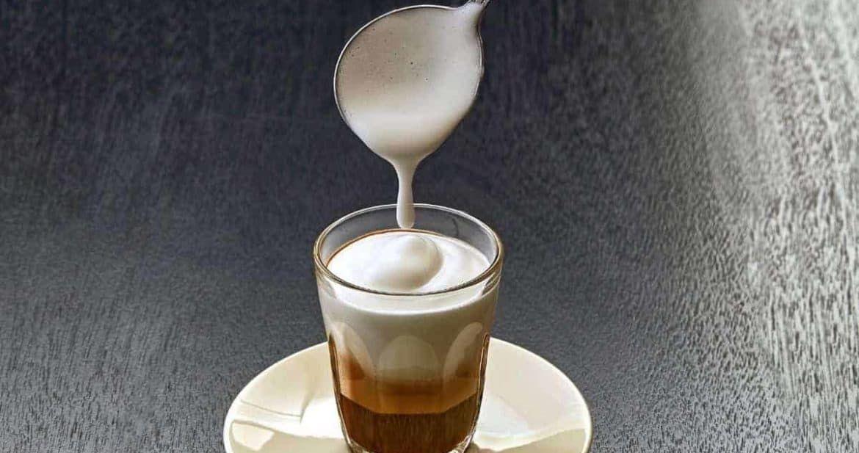 froth milk