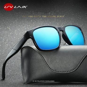 a24918977a6 UVLAIK Polarized Lens Sunglasses Men Vintage Driving Sport Sun glasses  Driving Safety Protect Eyeglasses HD Goggles