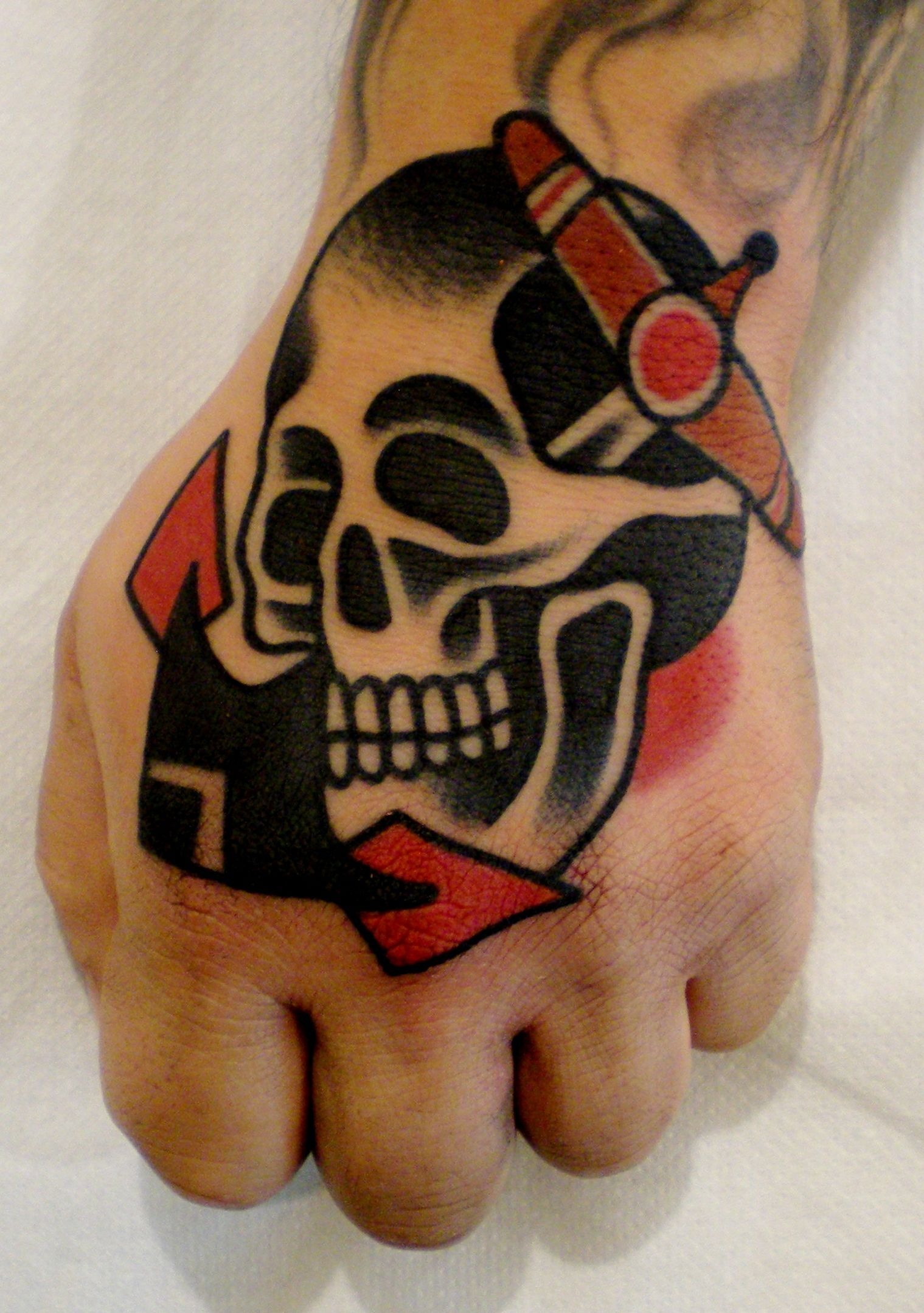 old school ink traditional tattoo Stay Traditional!!Follow us on  Facebook&Instagram:LucaSalaTattooing!!!