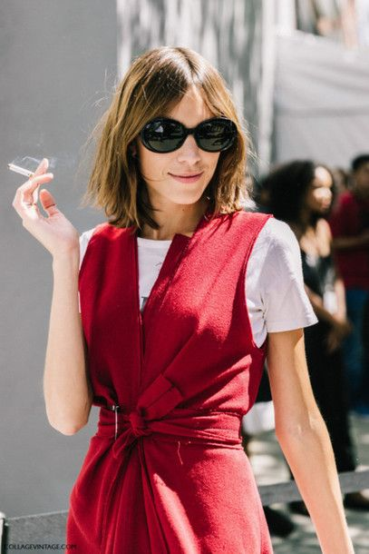 60490c4bd0 Dress  red ruffle pleated pleated ruched belted sleeveless alexa chung  white t-shirt cocktail