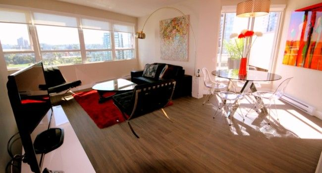 Spacious Luxury 780 Sq Ft 1 Bedroom Apartment With Large Private Balcony And Stunning Water Views F 1 Bedroom Apartment Vancouver Apartment Furnished Apartment