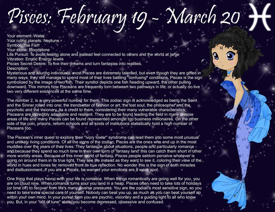 Chibi Astrology Pisces by *AodsAlice on deviantART BoS