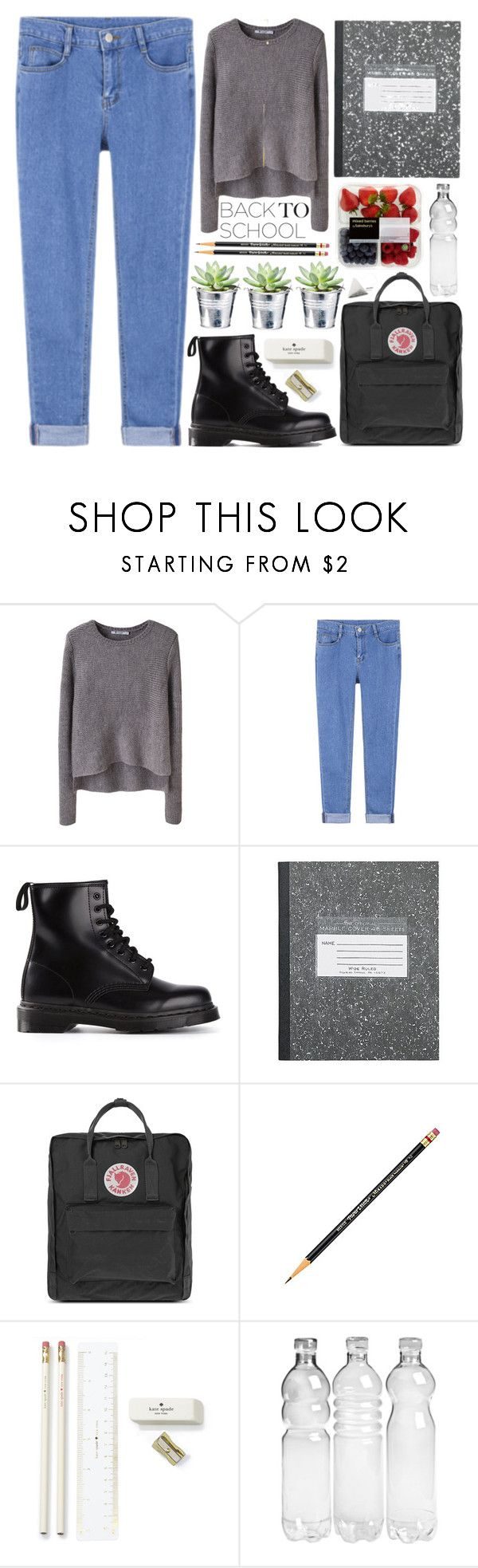 New Shoes - Polyvore Contest by evangeline-lily on Polyvore featuring moda, T By Alexander Wang, Dr. Martens, Fjällräven, Michael Kors, Kate Spade, CO, BackToSchool and AlexanderWang