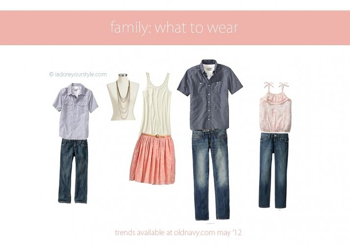 may family what to wear