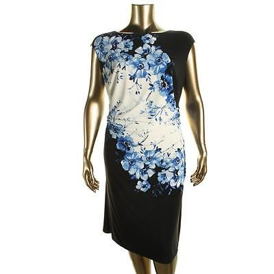 Lauren Ralph Lauren 9991 Womens B/W Cap Sleeves Wear to Work Dress Plus 14W BHFO https://t.co/ukDE8uwdRC https://t.co/Q55dKZlcwd