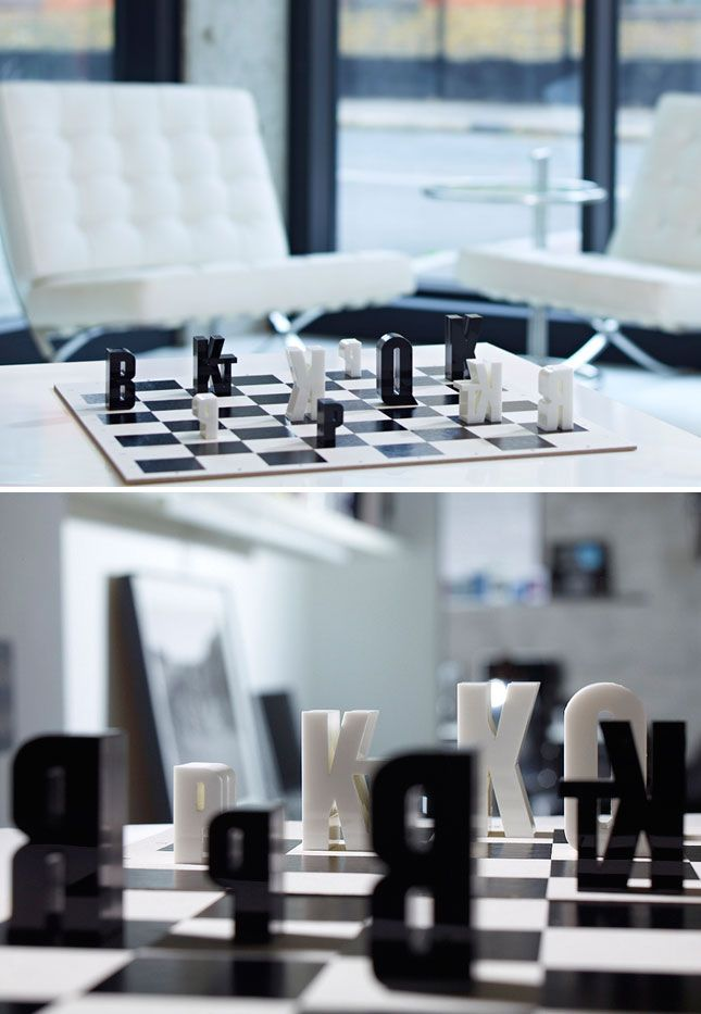 type chess set 10 ways to decorate with typography for the home rh pinterest com