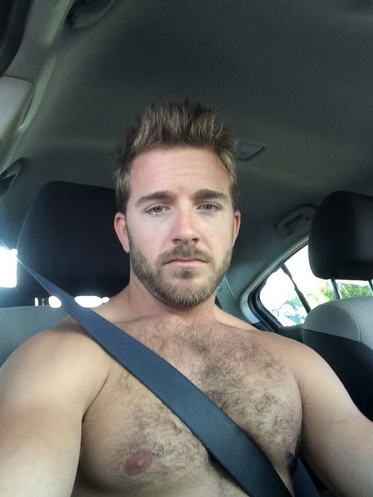 gay blond beard